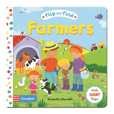 Book cover for Flip and Find Farmers