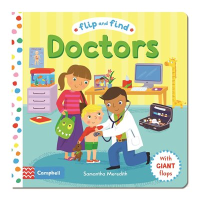 Book cover for Flip and Find Doctors