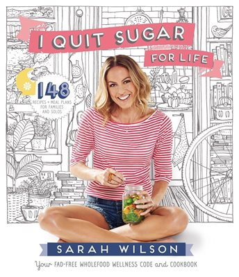 Book cover for I Quit Sugar for Life
