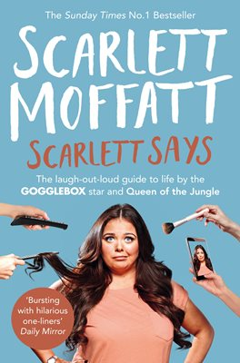 Book cover for Scarlett Says