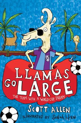 Book cover for Llamas Go Large