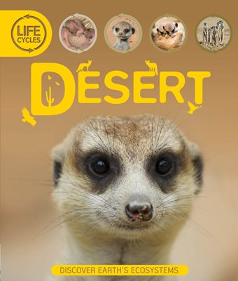Book cover for Life Cycles: Desert