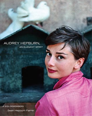 Book cover for Audrey Hepburn, Elegant Spirit