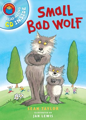 Book cover for I Am Reading with CD: Small Bad Wolf