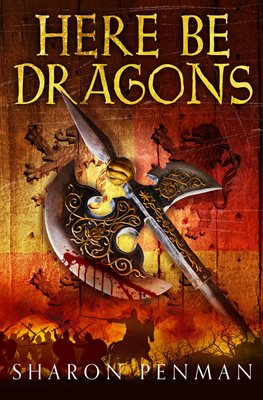 Book cover for Here Be Dragons