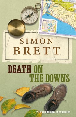Book cover for Death on the Downs