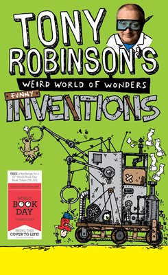 Book cover for Tony Robinson's Weird World of...