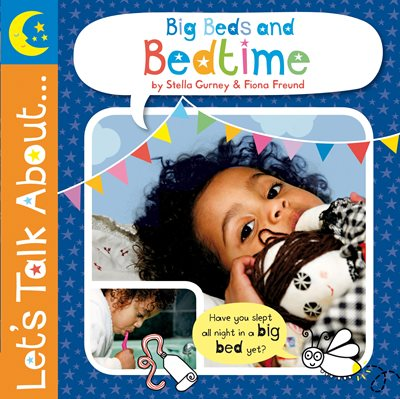 Book cover for Let's Talk About: Big Beds and Bedtime