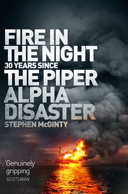 Book cover for Fire in the Night