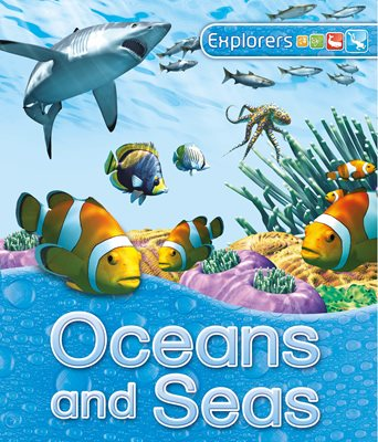 Book cover for Explorers: Oceans and Seas