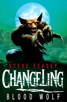 Book cover for Changeling: Blood Wolf