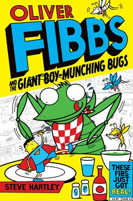 Book cover for The Giant Boy-Munching Bugs