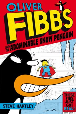 Book cover for The Abominable Snow Penguin
