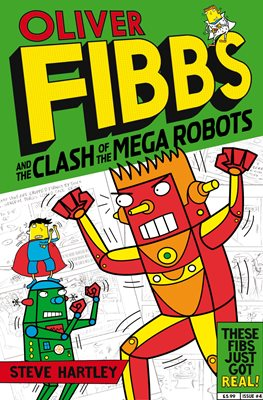 Book cover for The Clash of the Mega Robots