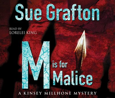 Book cover for M is for Malice