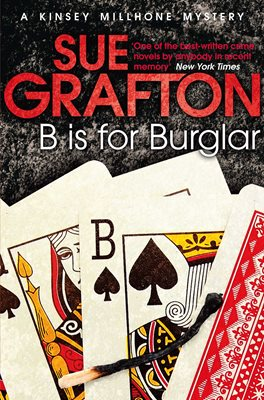 Book cover for B is for Burglar