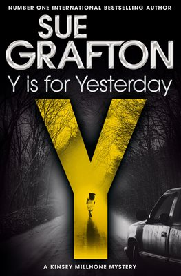 Book cover for Y is for Yesterday