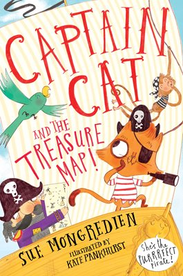 Book cover for Captain Cat and the Treasure Map