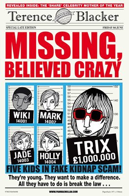 Book cover for Missing, Believed Crazy