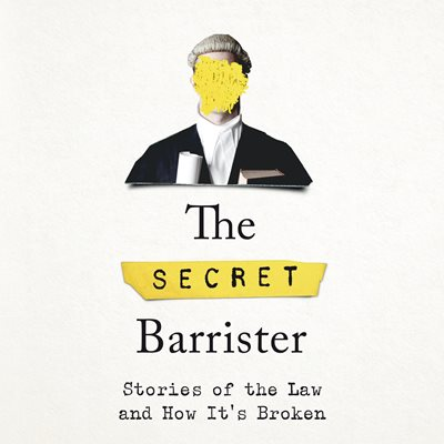 Book cover for The Secret Barrister
