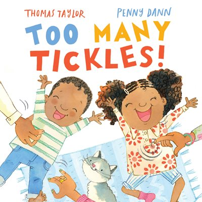 Book cover for Too Many Tickles!