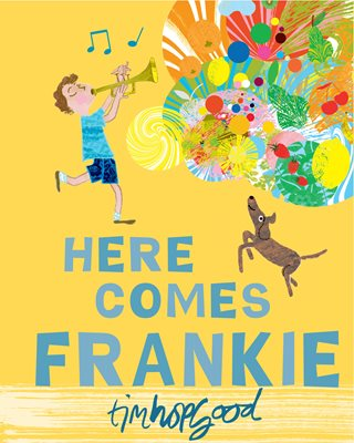 Book cover for Here Comes Frankie!