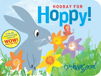 Book cover for Hooray for Hoppy