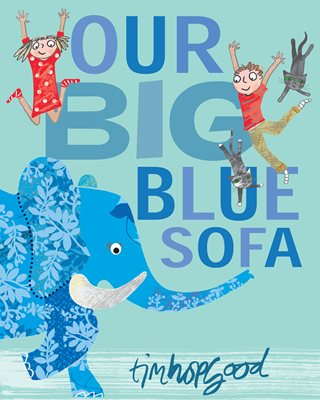 Book cover for Our Big Blue Sofa