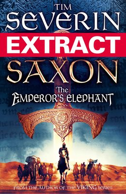 Book cover for Saxon: The Emperor's Elephant (extract)