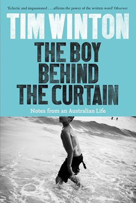 Book cover for The Boy Behind the Curtain