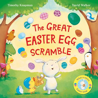 Book cover for The Great Easter Egg Scramble