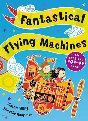 Book cover for Fantastical Flying Machines