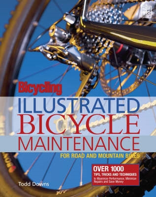 Book cover for Bicycling Magazine's Illustrated Guide to Bicycle Maintenance