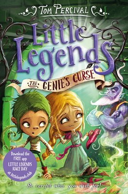 Book cover for The Genie's Curse