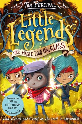 Book cover for The Magic Looking Glass