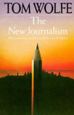 Book cover for The New Journalism
