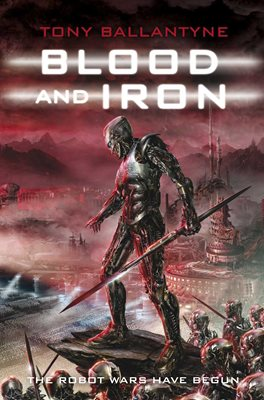 Book cover for Blood and Iron