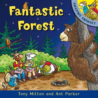 Book cover for Amazing Animals: Fantastic Forest