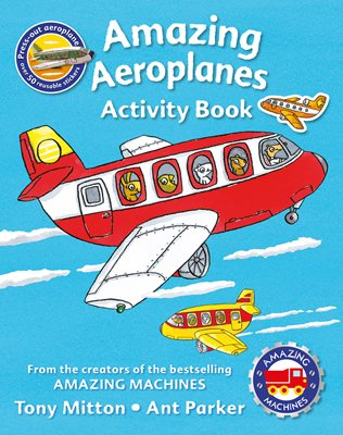 Book cover for Amazing Machines Amazing Aeroplanes...