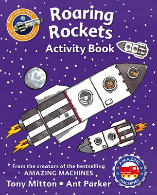Book cover for Amazing Machines Roaring Rockets...