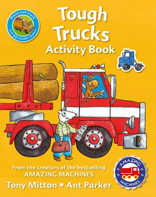 Book cover for Amazing Machines Tough Trucks...