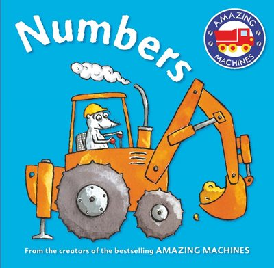 Book cover for Amazing Machines First Concepts: Numbers