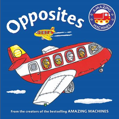 Book cover for Amazing Machines First Concepts...