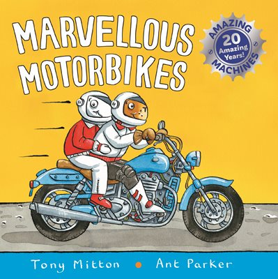 Book cover for Amazing Machines: Marvellous Motorbikes