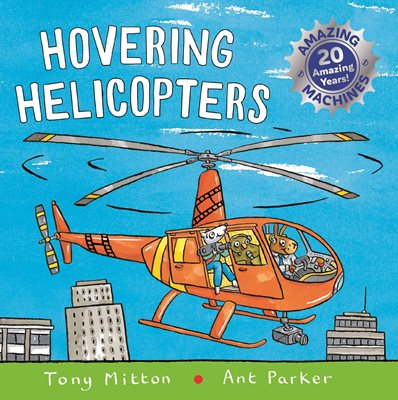 Book cover for Amazing Machines: Hovering Helicopters
