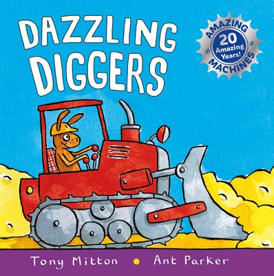Book cover for Amazing Machines: Dazzling Diggers