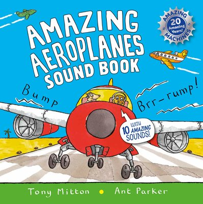 Book cover for Amazing Aeroplanes Sound Book