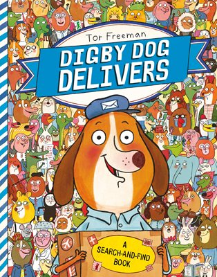 Book cover for Digby Dog Delivers: A Search-and-Find...