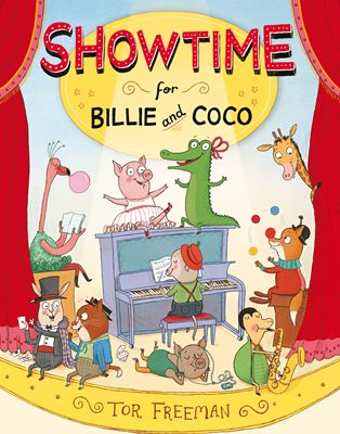 Book cover for Showtime for Billie and Coco