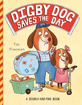 Book cover for Digby Dog Saves the Day